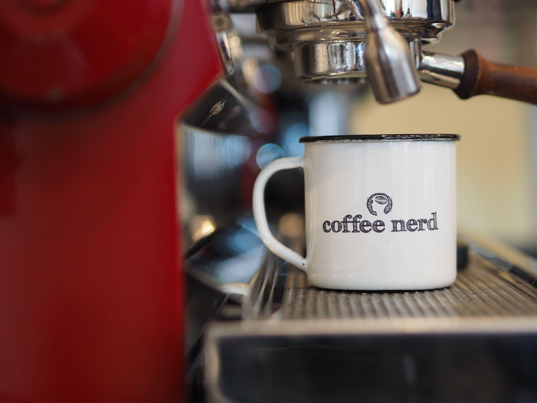 Auf einen Espresso beim Coffee Nerd