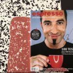 Handsignierte espresso-Magazine zu gewinnen