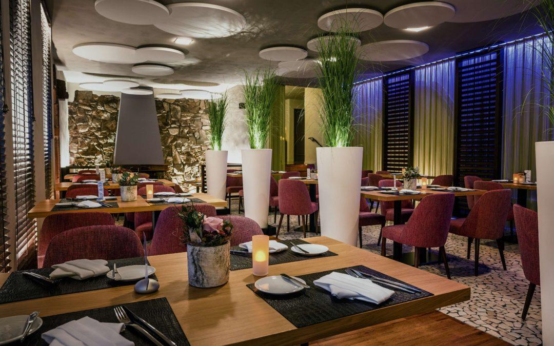 Liebe zum Detail im Kaminrestaurant im Hotel Vorfelder