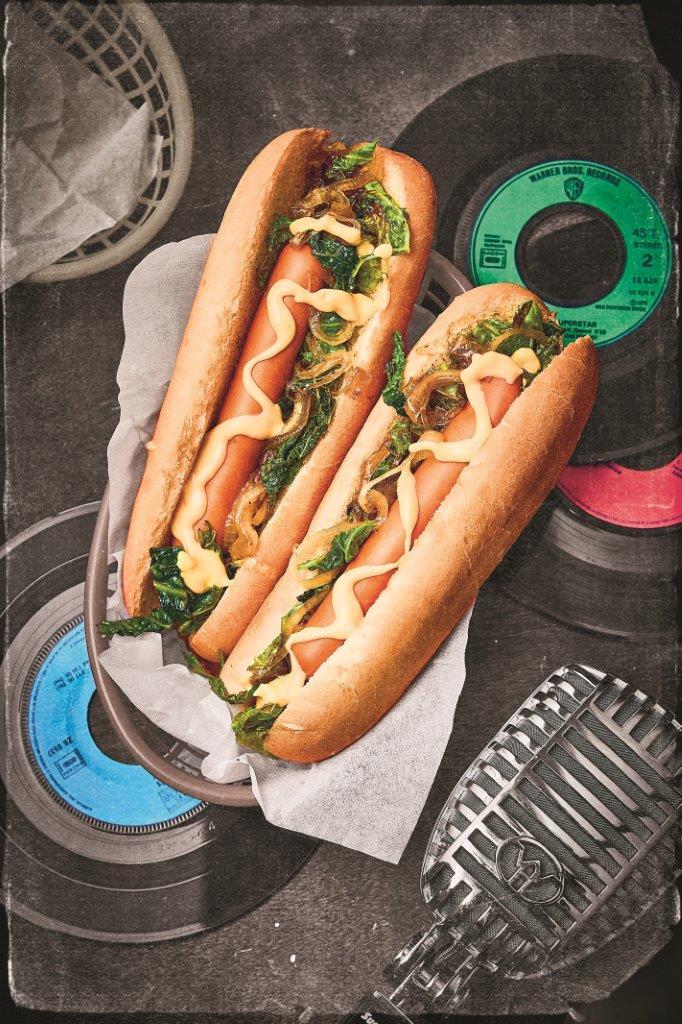 Hot Dog für Fans von Elvis Presley