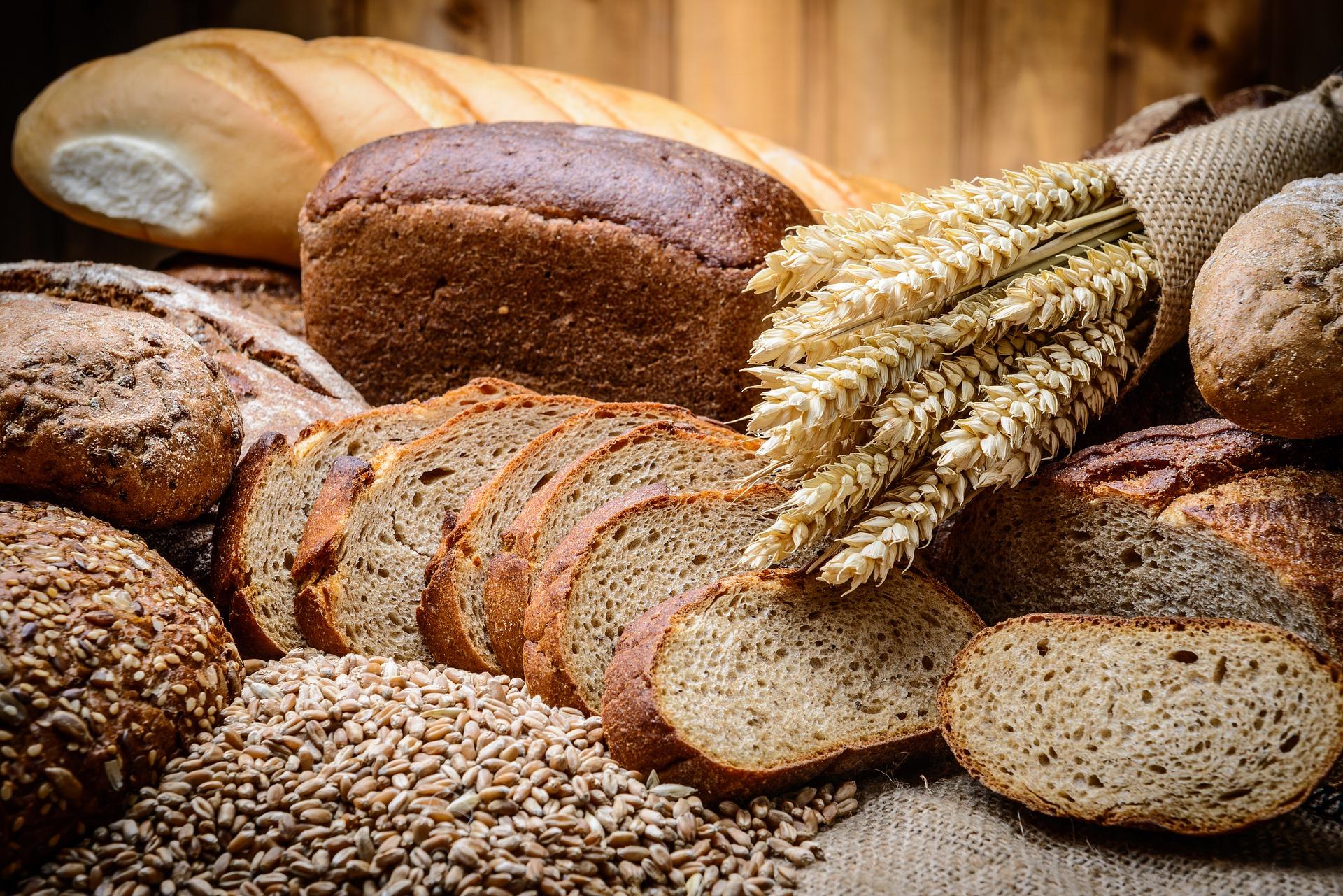 Brot in verschiedenen Sorten
