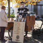 Concrete Coffee Roasters versorgt die Region auch mit einem mobilen Coffee-Bike